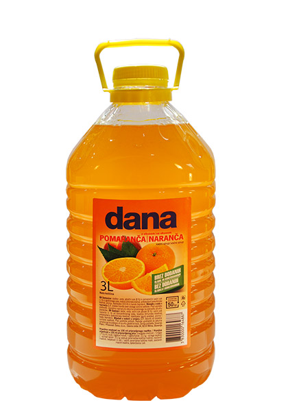 DANA, sadni sirup, pomaranča