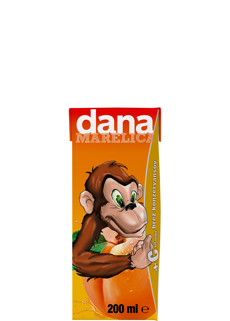 DANA fruit drink 10%, apricot