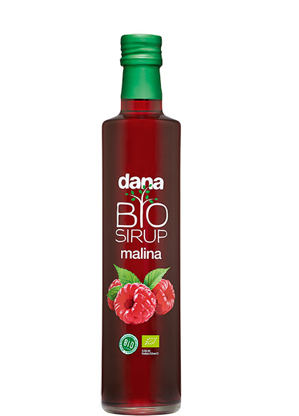 DANA, BIO fruit syrup, raspberry