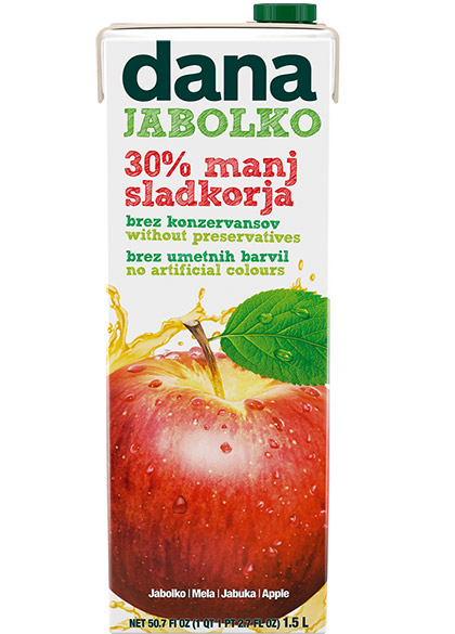 DANA voćno piće 15 %, jabuko
