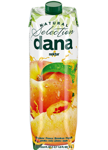 DANA nektar 50 %, breskva, jabuka