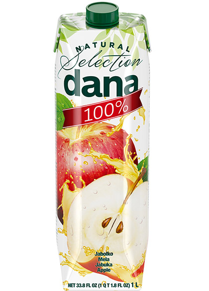 DANA 100% juice, apple