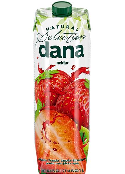 DANA nektar 45 %, jagoda, jabuka