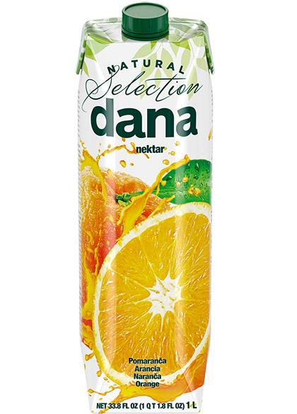 DANA nektar 50 %, pomaranča