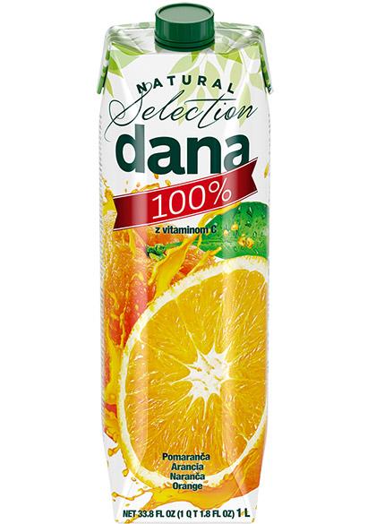 DANA 100 % sok, naranča