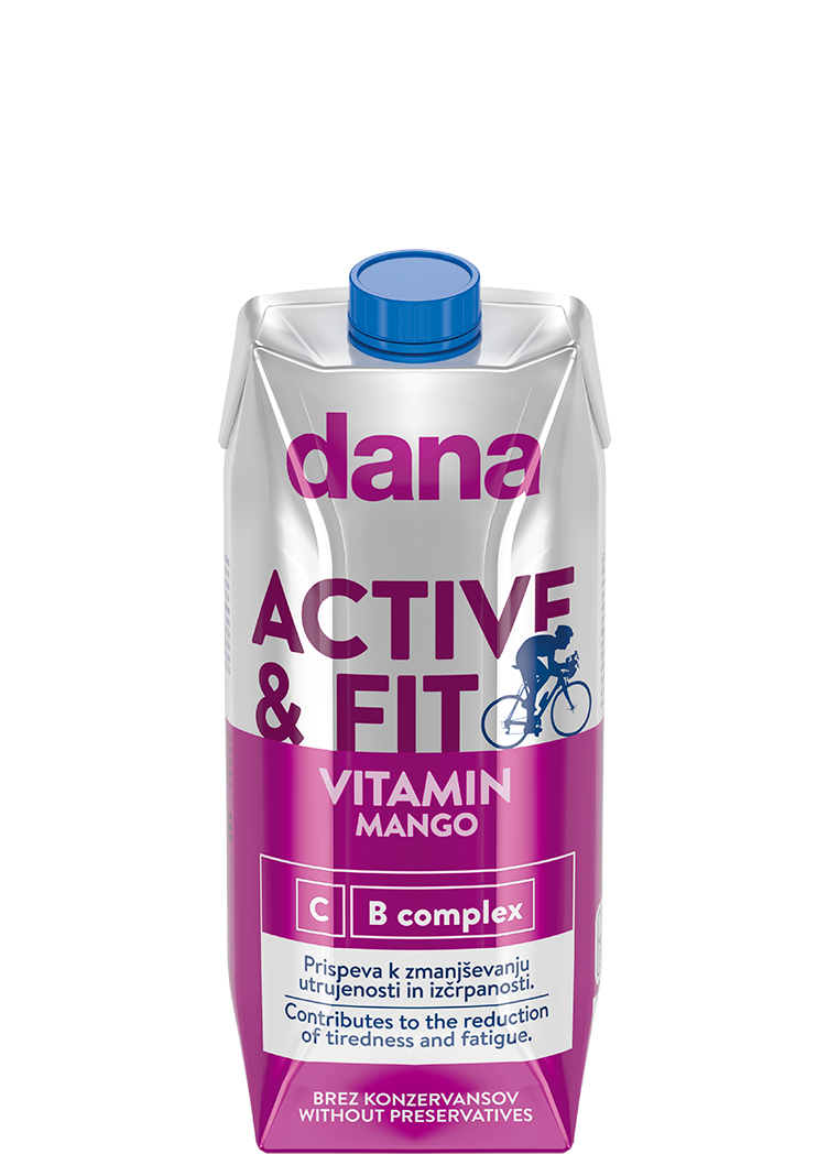 DANA VITAMIN – ACTIVE FIT, mango, C, B complex