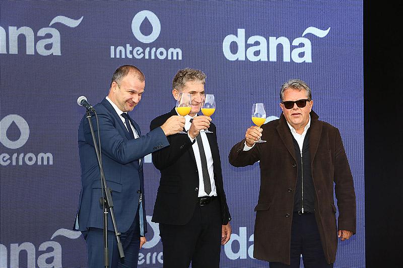 The opening of Dana Interrom