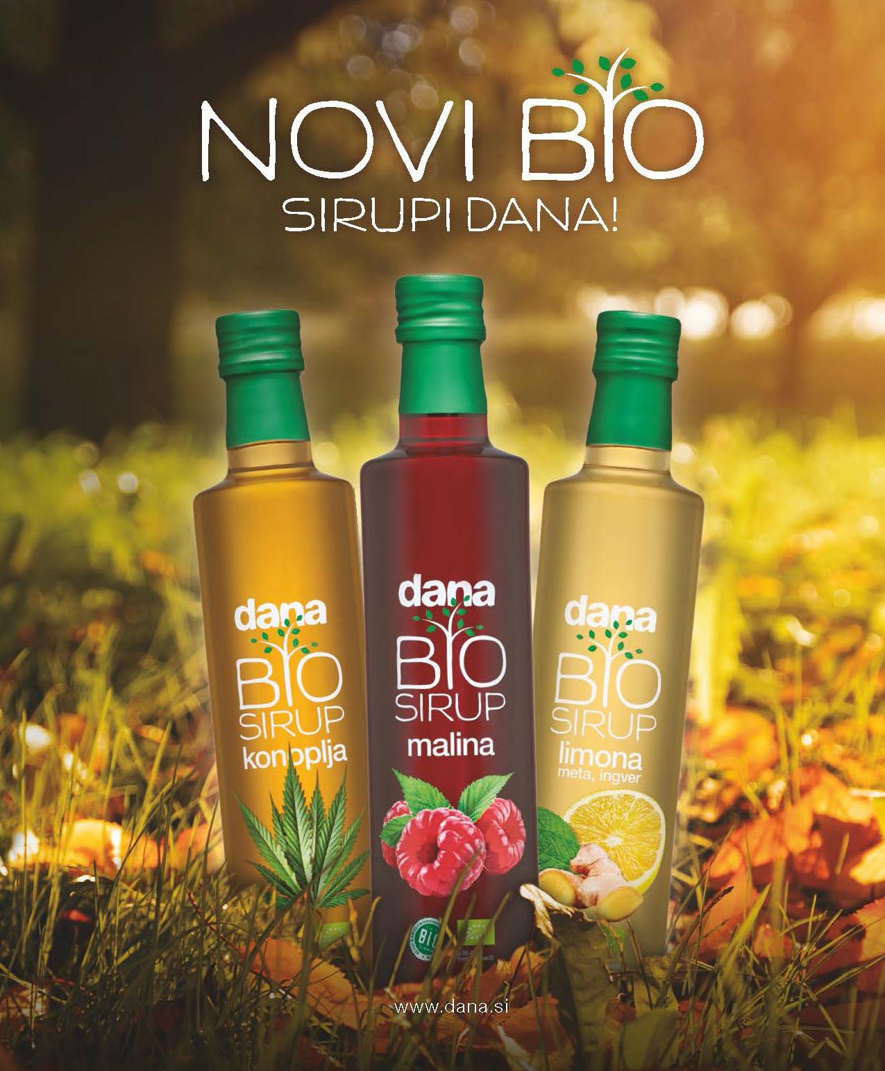 New Dana BIO syrups