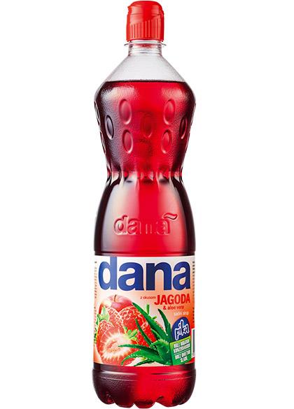 DANA, fruit syrup, strawberry, aloe vera