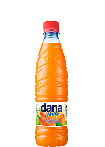 DANA FRUTY, voćni sok, 3 % mrkva, naranča, limun