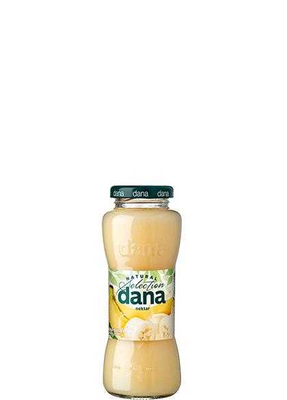 DANA nectar 25%, banana, lemon